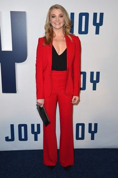 Natalie Dormer in Issa at the 'Joy' New York Premiere - Red Carpet