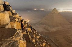 Sunrise in Cairo from a place forbidden