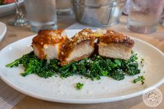 Pork belly at Bread in Lolita, NYC