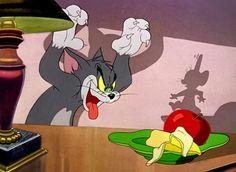 Tom and Jerry Cartoon = The Invisible Mouse = New Cartoons Full Moive Cartoon Network 90s, Cartoon Memes, Cartoon Art, Cartoon Characters, William Hanna, Tex Avery, Tom And Jerry Cartoon, Meme Pictures, Meme Pics