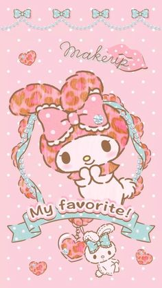 Image in My melody collection by ป่านแก้ว on We Heart It My Melody Wallpaper, Sanrio Wallpaper, Hello Kitty Wallpaper, Pink Wallpaper, Iphone Wallpaper, Hello Kitty Art, Hello Kitty My Melody, Sanrio Characters, Cute Characters