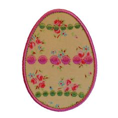 Dotty Easter Egg Appliques Machine by BigDreamsEmbroidery on Etsy, $3.50