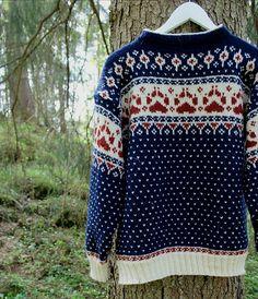 Ravelry: Fjordfolk pattern by Linka Karoline Neumann Ravelry, Christmas Sweaters, Knit Crochet, Knitting Patterns, Wool, Prints, Beauty, Design, Crocheting