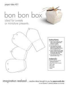 What's in the boooooxxxx? Diy Gift Box, Diy Box, Diy Gifts, Diy Paper Bag, Paper Gifts, Paper Box Template, Origami Templates, Box Templates, Chanel Wall Art