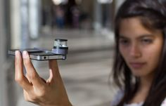 This gadget turns any iphone into a camera that can take 360 degree pictures.  Very cheap, too.