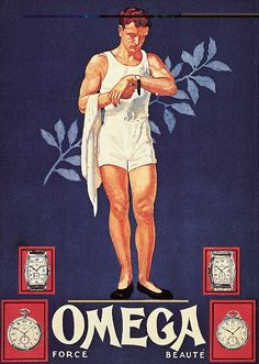From one of our first Olympic Games advertising campaigns in 1932 when we became Official Timekeeper to... Start Me Up