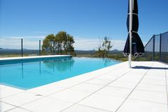 Custom Built Swimming Pool with a view