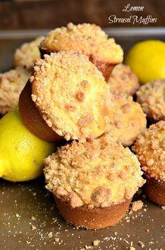 Limón Streusel Muffins 5 de willcookforsmiles.com