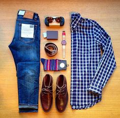 Everything looks better in a grid #thingsorganizedneatly #plaid #mensshoes #timberland #style #mensstyle