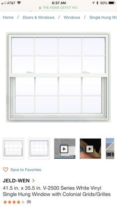Single Hung Windows, Big Kitchen, White Vinyl, Appliances, Doors, Home, Gadgets, Accessories, Home Appliances