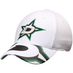 3b52377e89cc5 Dallas Stars Reebok Face Off Draft Flex Hat - White
