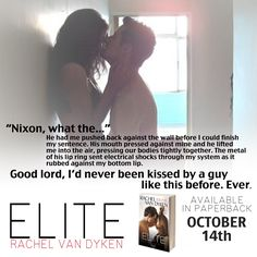 Elite - Book 1 in the Eagle Elite Series by Rachel Van Dyken Available in Paperback Nationwide