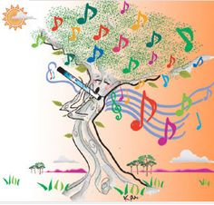 Flute Tree of Life ~
