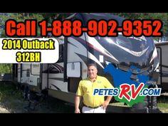 RV Lifestyle Consultant Joe Vartuli walks us through the Outback 312BH by Keystone RV. The 312BH is a rear bunkhouse floor plan, providing the large slide out with ample sleeping space and a place to hang out. The second slide in the living area provides great family living space. The Outback 312BH also has a full-blown outside kitchen nicely rounding out this travel trailer's features.