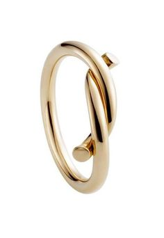 Cartier intertwined ring in pink gold - Cartier Les Must ring