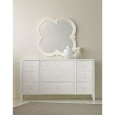Hooker Furniture Melange Quatrefoil Dresser Mirror & Reviews | Wayfair