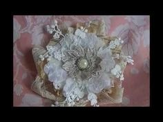 How I make flowers with mixed material? Demo-Tutorial - YouTube