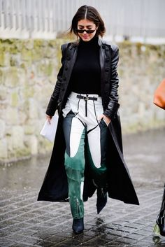All the Style from the Streets of Paris #parisfashionweeks,