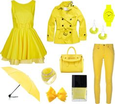 Style Note: I've got sunshine on a cloudy day, Who doesn't love a little sunshine yellow?