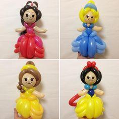 "154 Likes, 9 Comments - Balloon-Syotaro (@balloon_syotaro) on Instagram: ""ディズニープリンセス Disney Princesses  #アバローのプリンセスエレ�"