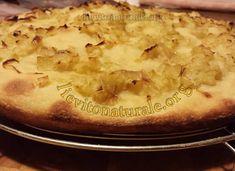 Focaccia con cipolle con Lievito Naturale o Pasta Madre e Farina Macinata a Pietra