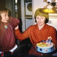 Happy birthday to my beautiful mum wherever she is. Love this photo of her and my little brother. Rest in peace x by jimmiebss