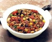 Wheat berry chili recipe