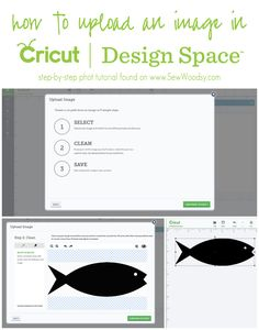 How To Upload an Image in @Cricut® Design Space from SewWoodsy.com #cricut #tutorial