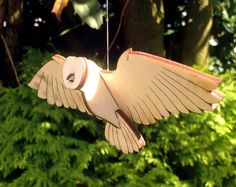 Flying Owl Kit by LauraMathewsArtist on Etsy
