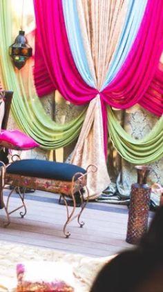 R&R Event Rentals - Bay Area Indian Wedding Decorations  | Ladies Sangeet & Sangeeth Decorations