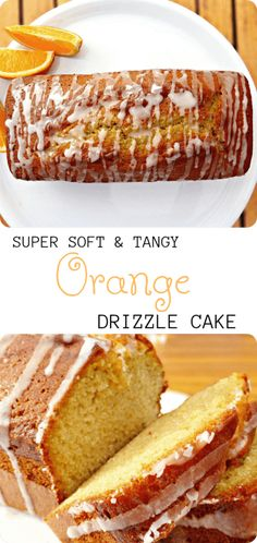There's nothing better than a drizzle cake and this orange delight is no exception. Super soft sponge with a tang of orange topped with a sweet orange drizzle. Cake Recipes From Scratch, Easy Cake Recipes, Dessert Recipes, Orange Recipes Baking, Brunch Recipes, Delicious Recipes, Vegetarian Recipes, Strudel, Orange Drizzle Cake