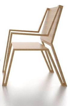 Michael Samoriz's Outline Chair Displaying an Elegant Silhouette #ChairDesign