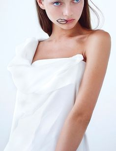 bienenkiste:  Katiusha Feofanova by Lucie Hugary for Material Girl magazine