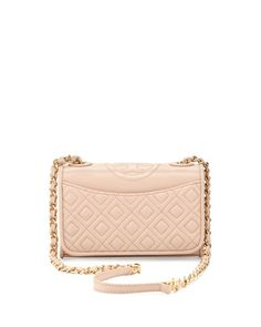 blush quilted bag