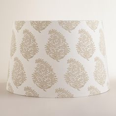 Natural Paisley Floor Lamp Shade | World Market