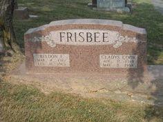 Gladys <i>Cook</i> Frisbee