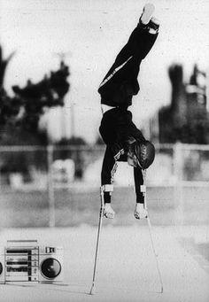 Photo Title Polio Break Dancer Photographer/Creator Ken Lubas