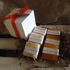 Caja de jabones artesanales