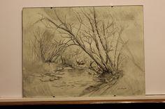 Aurelian Ghita, pencil on paper. Winter