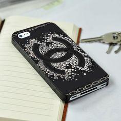 CHANEL LOGO Sparkle iPhone 4/4S case iPhone 5 case Samsung Galaxy S3 case Samsung Galaxy S4 case from descaCase on Wanelo