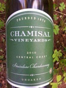 Chamisal Chardonnay 2010 #wine