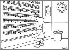 The dreaded Canon in D cello part.Community Post: 20 Jokes Only Musicians Will Understand Cello Music, My Music, Rock Music, Orchestra Humor, Orchestra Concerts, Music Jokes, Funny Music, Simpsons, Humor Grafico