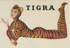 vintage poster tigra van der elst I love Belgium Blog Angelina Saey Al Moore Pin Up Belgian Murder