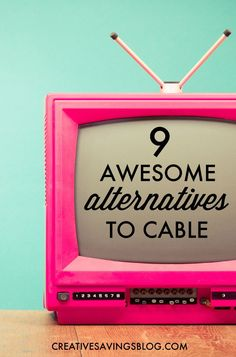 With streaming sites, subscription services, and special bundles are popping up all over the place, it`s easier than ever to say goodbye to cable. These 9 awesome cable TV alternatives will keep more money in your pocket, and give you even greater enterta Ways To Save Money, Money Tips, Money Saving Tips, How To Make Money, Cable Tv Alternatives, Financial Tips, Financial Peace, It Goes On, Hacks
