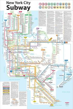Buy New York City Subway Map Tauranac 2012.10 Best Nyc Subway Posters Images In 2015 New York Subway Nyc