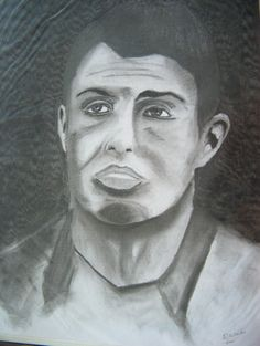 Cristiano Ronaldo, Portugal, 2013 Executado a carvão