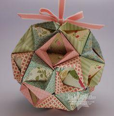 The Paper Pixie: DSP Kusudama Ball - Video Tutorial#c1613383889093042225