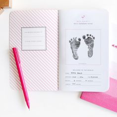 personalize your own may designs pregnancy journal notebook to keep track of those special moments during
