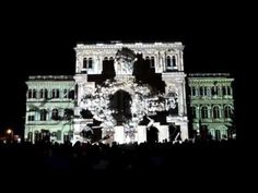 Bordos.ArtWorks and invited artists / Videomapping / Paint Up! 2011 / MT...
