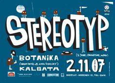 Stereotyp poster by Dekel Hevroni